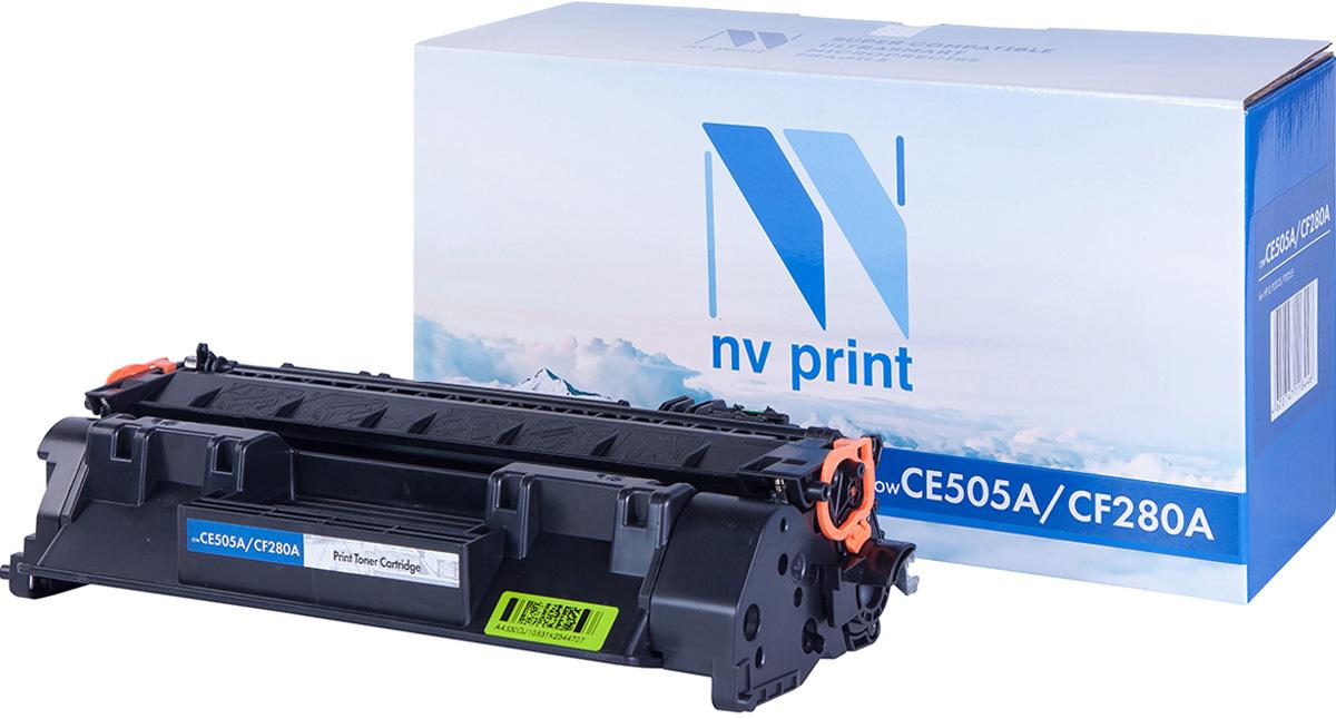 Картридж NV Print NV-CF280A/CE505A, черный, для лазерного принтера