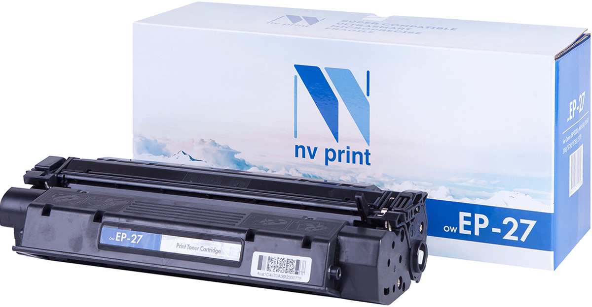 Тонер-картридж NV Print EP-27, черный, для лазерного принтера, совместимый