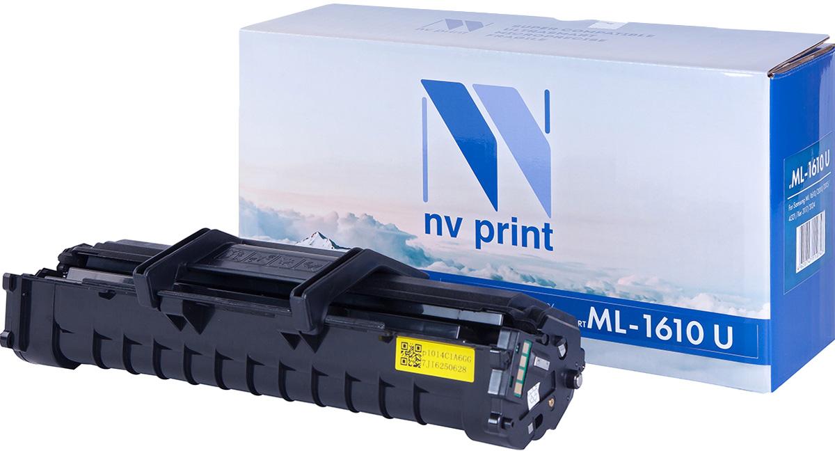 Тонер-картридж NV Print ML-1610 UNIV, черный, для лазерного принтера, совместимый