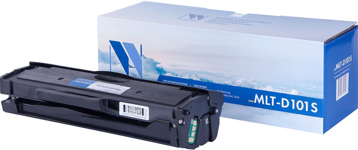 Тонер-картридж NV Print MLT-D101S, черный, для лазерного принтера, совместимый