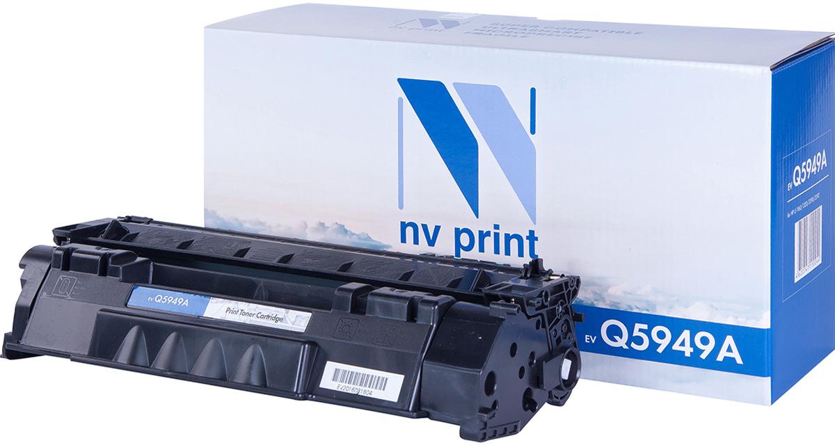 цена на Картридж NV Print NV-Q5949A, черный, для лазерного принтера