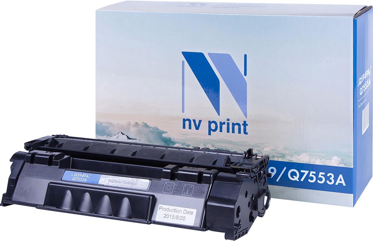 цена на Картридж NV Print NV-Q5949A/Q7553A, черный, для лазерного принтера