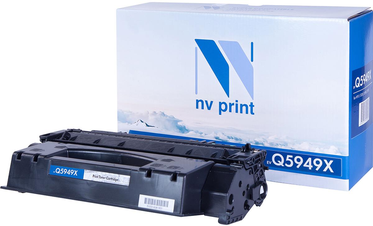 Тонер-картридж NV Print Q5949X, черный, для лазерного принтера, совместимый