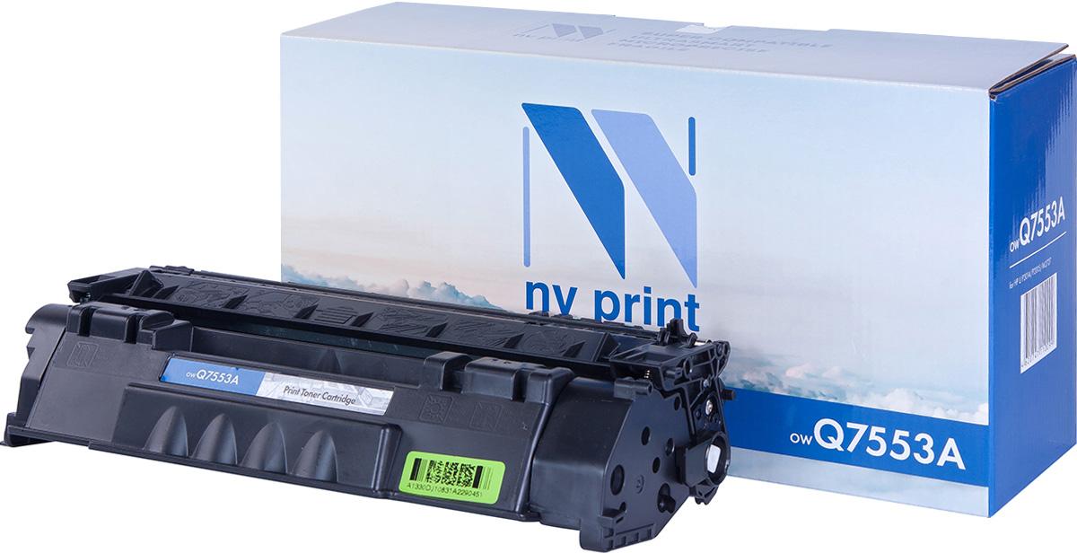 Тонер-картридж NV Print Q7553A, черный, для лазерного принтера, совместимый