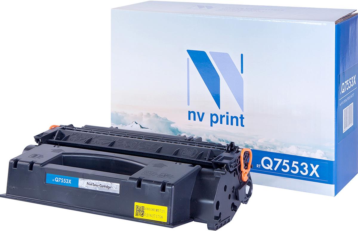 Картридж NV Print NV-Q7553X, черный, для лазерного принтера цена