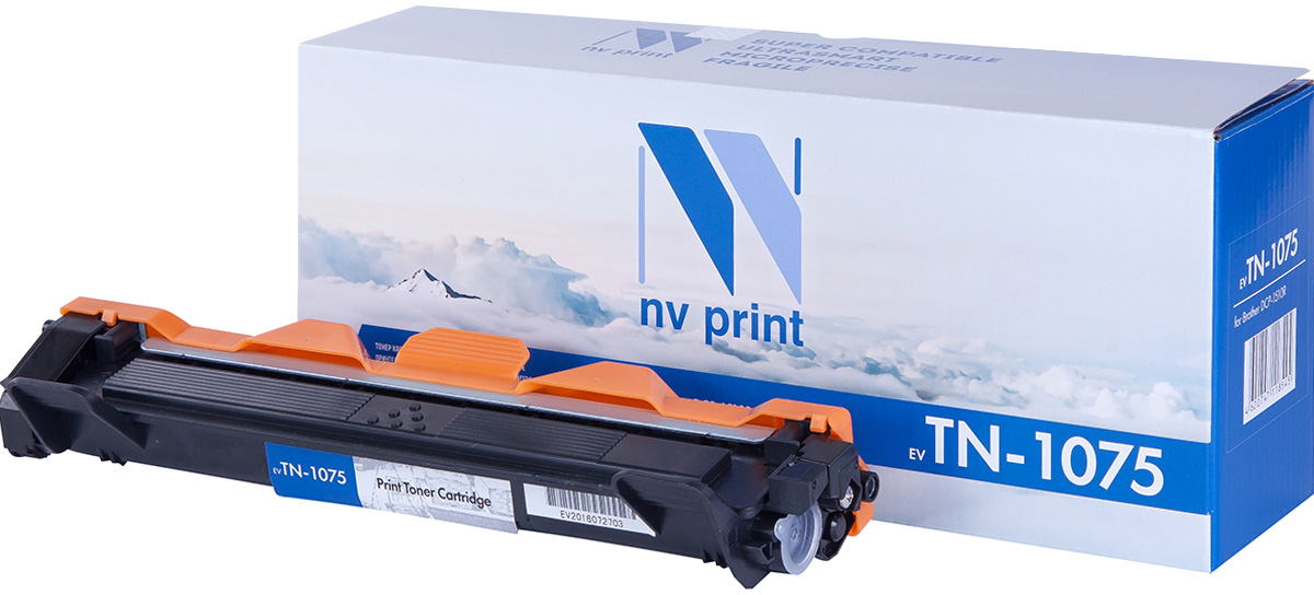NV Print NV-TN1075, Black тонер-картридж для Brother HL1012/DCP1510/1512/MFC1815/1112R