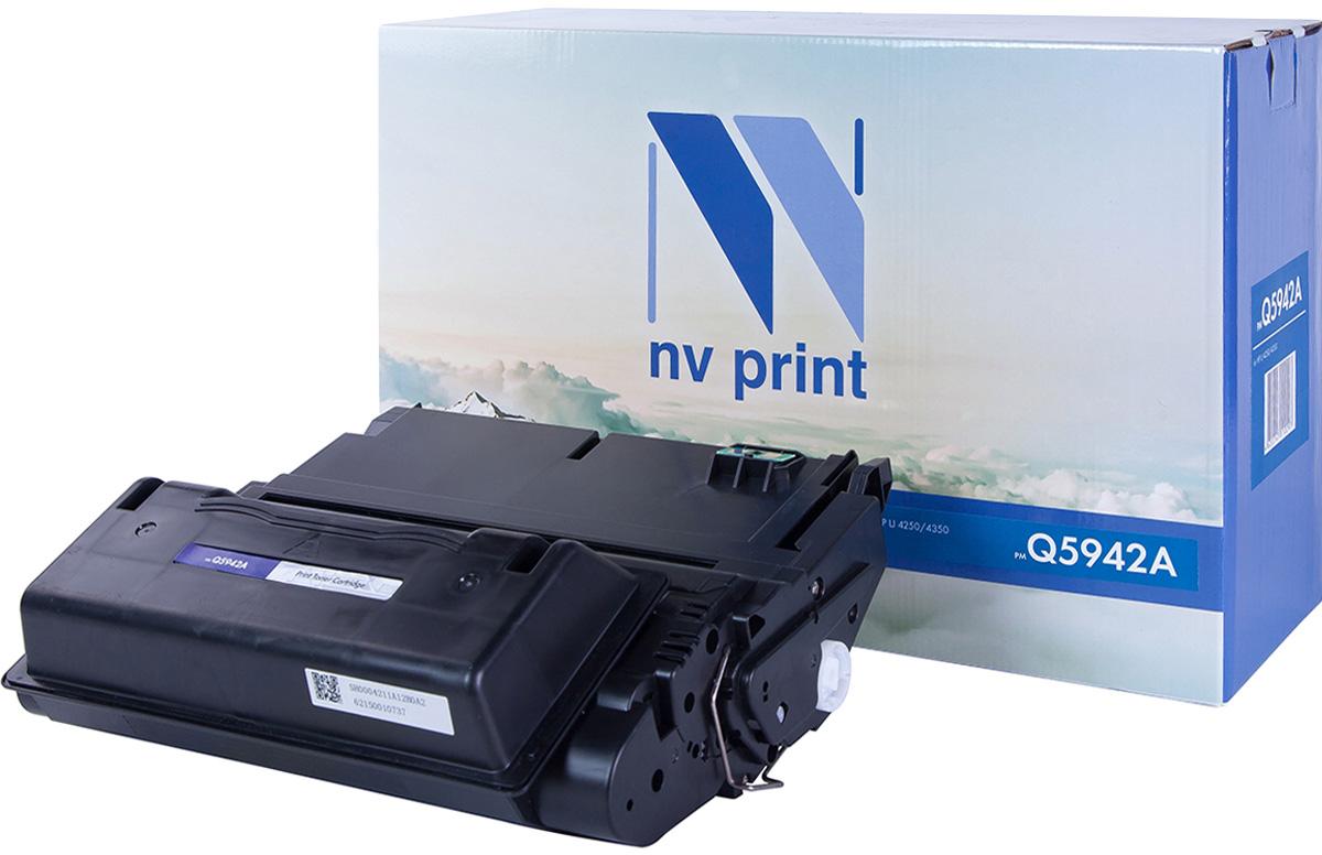 Картридж NV Print Q5942A, черный, для лазерного принтера