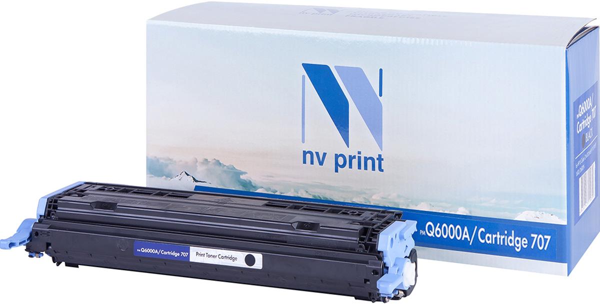 Картридж NV Print Q6000A/CAN707Bk, черный, для лазерного принтера