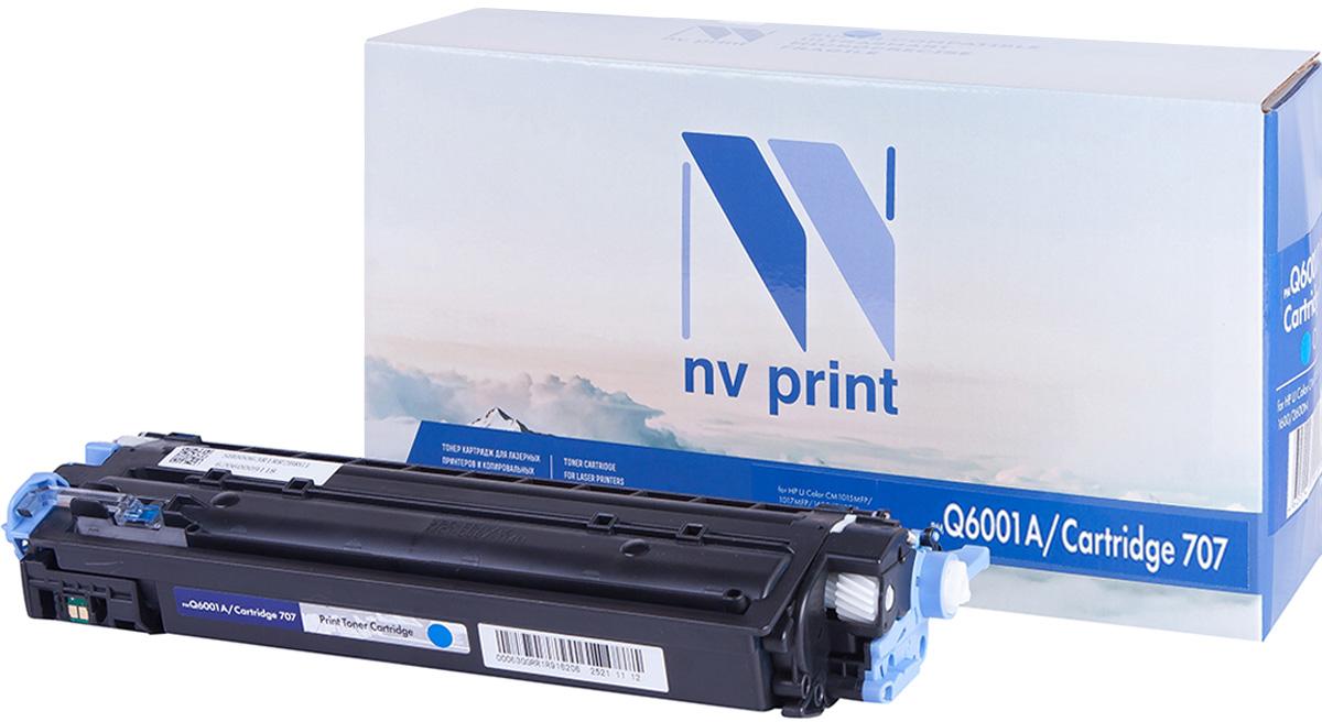 Картридж NV Print Q6001A/CAN707C, голубой, для лазерного принтера