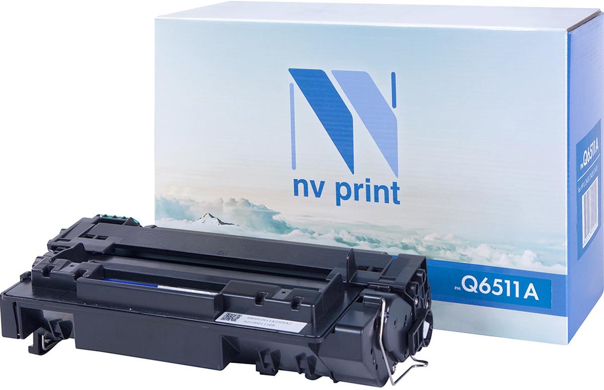 Картридж NV Print Q6511A, черный, для лазерного принтера