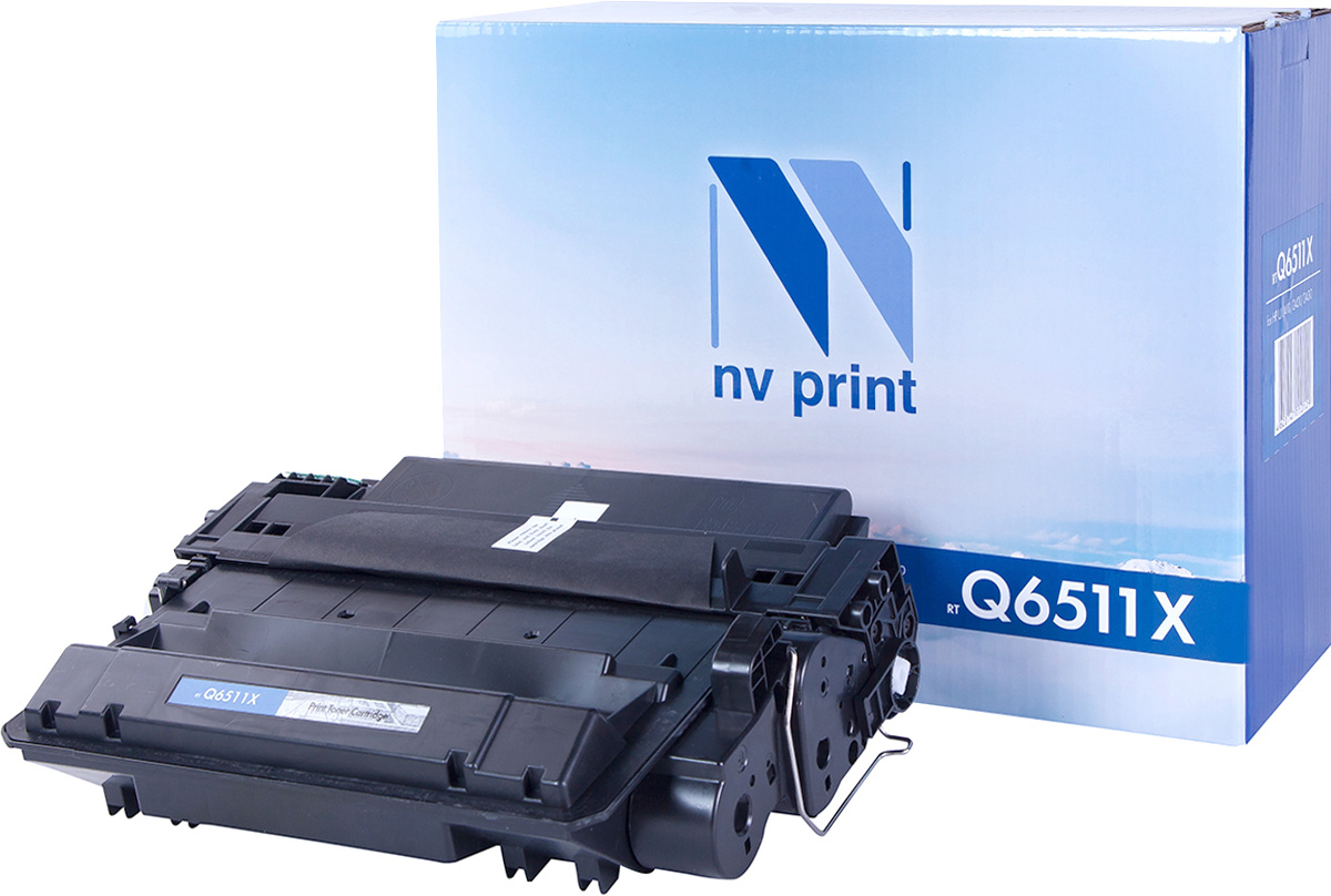 Картридж NV Print Q6511X, черный, для лазерного принтера