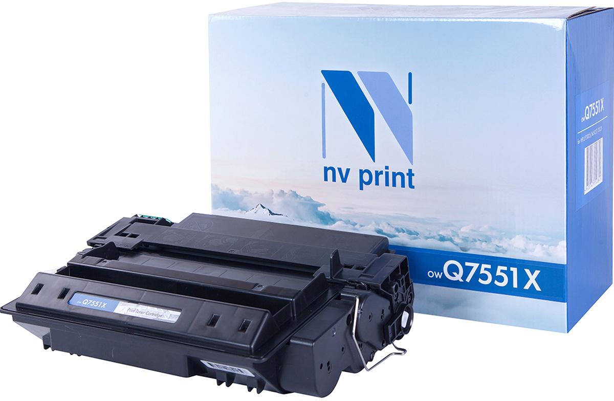 Картридж NV Print Q7551X, черный, для лазерного принтера