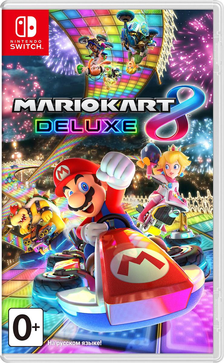Mario Kart 8 Deluxe (Nintendo Switch) игровая консоль nintendo switch neon red blue mario kart 8 deluxe