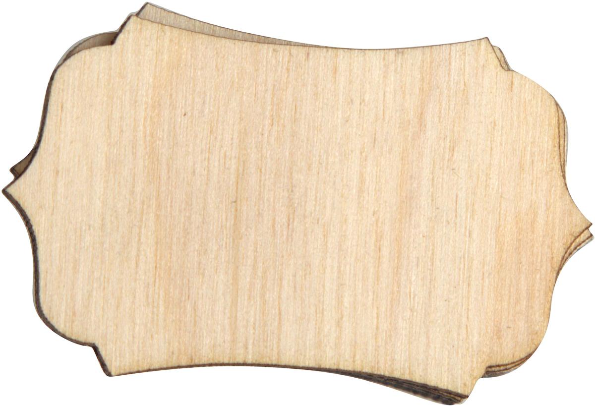 Заготовка для декорирования Decoriton Панно №11, 5 х 0,3 см, 5 шт набор заготовок для декорирования decoriton подвески елочные медальоны набор 5 фанера 0 3см высота 5см