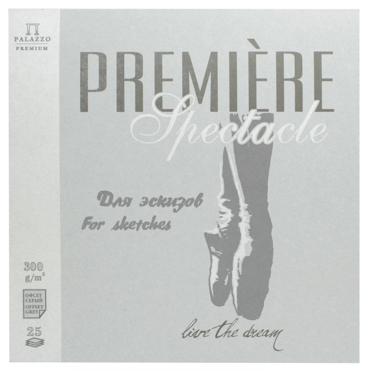 Палаццо Альбом для эскизов Premiere Spectacle 25 листов альбом для эскизов палаццо модель 40 листов формат а3