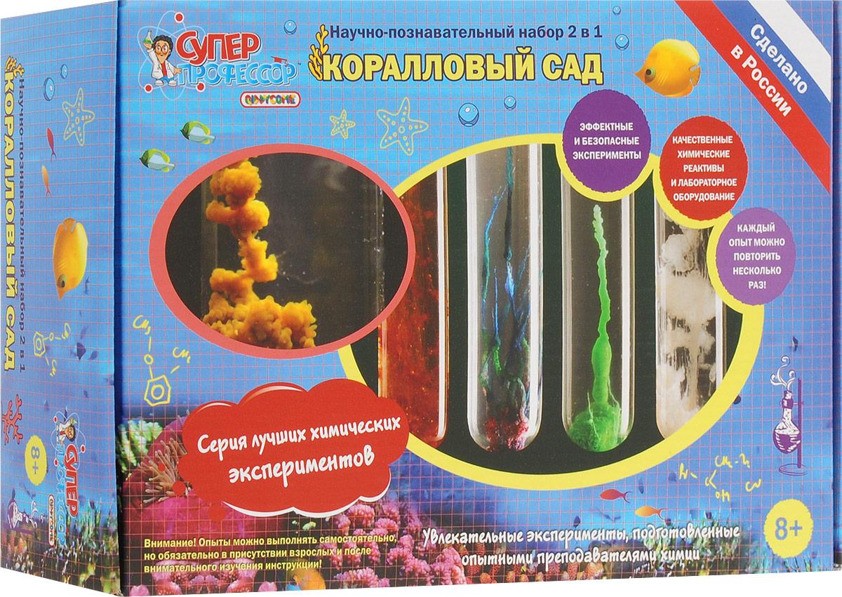 Набор для опытов Лучшие эксперименты Коралловый сад