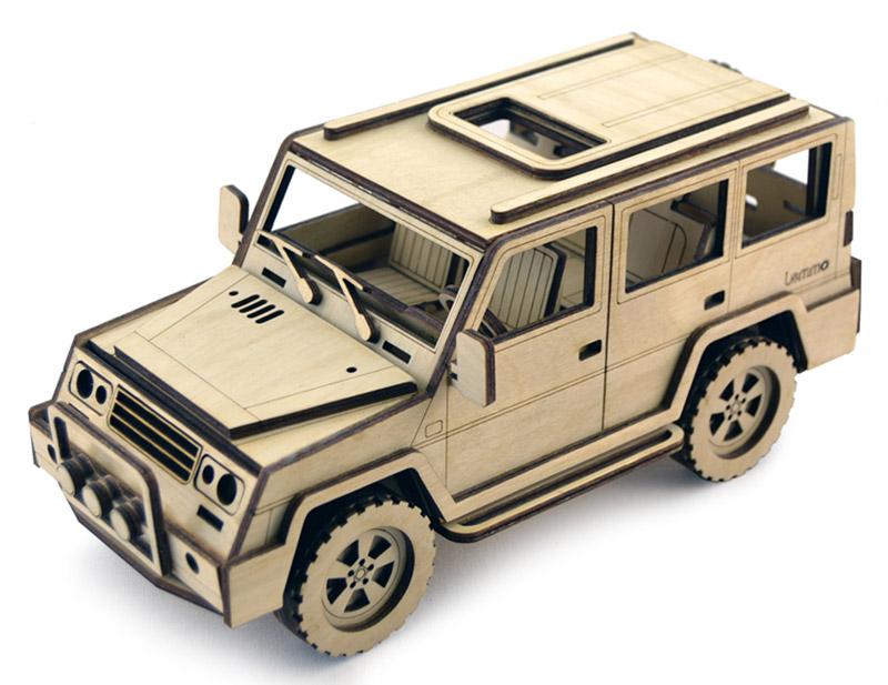 Фото - Деревянная модель Lemmo АВ-1 конструктор lemmo внедорожник скорпион 74эл