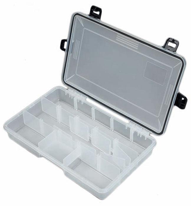 Коробка рыболовная Salmo Waterproof, водонепроницаемая, 28 х 18 х 5,2 см