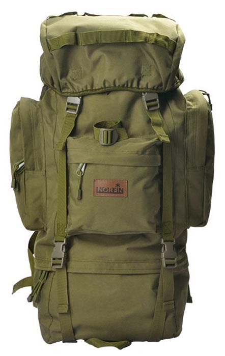 Рюкзак тактический Norfin Tactica 65 NF, цвет: зеленый, 65 л цена