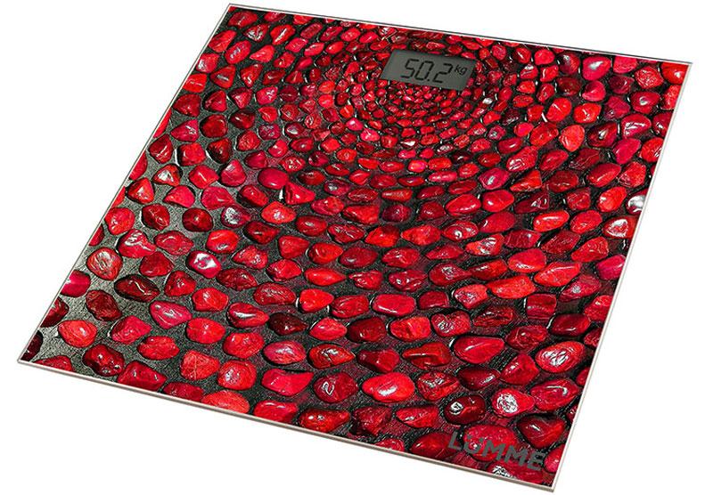 LUMME LU-1329 красный коралл весы напольные сенсор
