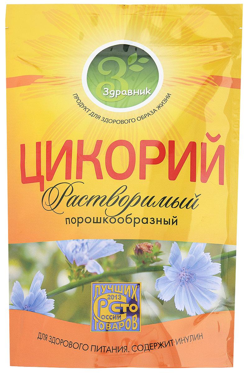 Здравник цикорий, 85 г цикорий растворимый натуральный fitolain 100 г