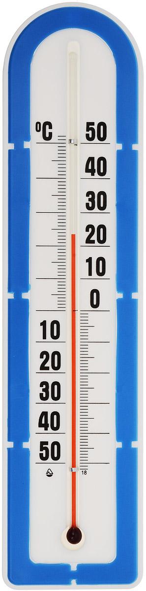 Термометр наружный Стеклоприбор, цвет: белый, синий. ТБН-3-М2 исп.5 термометр для холодильника стеклоприбор тб 3м1 исп 9