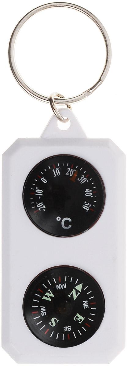 Компас-брелок Sol, с термометром. SLA-003