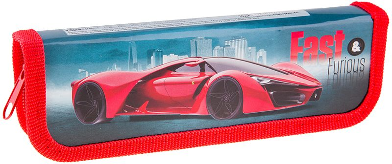 Фото - ArtSpace Пенал Авто Supercar цвет красный ПК1_10600 авто