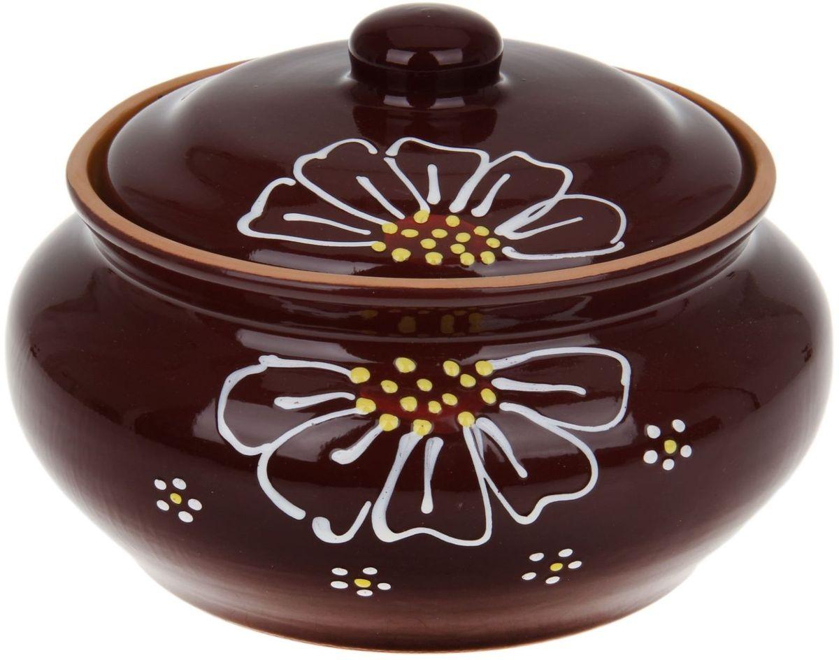 Пельменница Псковский гончар, цвет: коричневый, 2 л миска псковский гончар праздничная