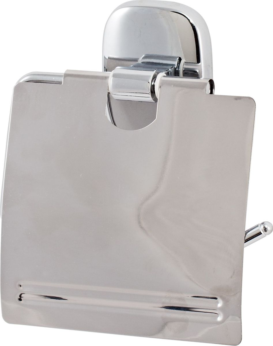 Держатель туалетной бумаги Del Mare 1500, цвет: хром ершик для унитаза del mare 1500 с подставкой настенный цвет хром