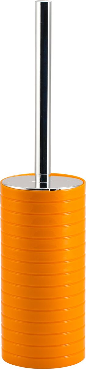 """Ершик для унитаза Swensa """"Тренто"""", с подставкой, цвет: оранжевый"""