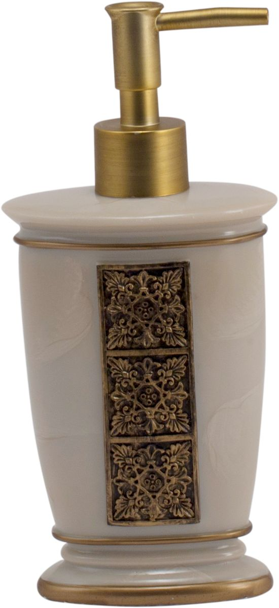 """Дозатор для жидкого мыла Swensa """"Синтра"""", цвет: слоновая кость, 250 мл"""