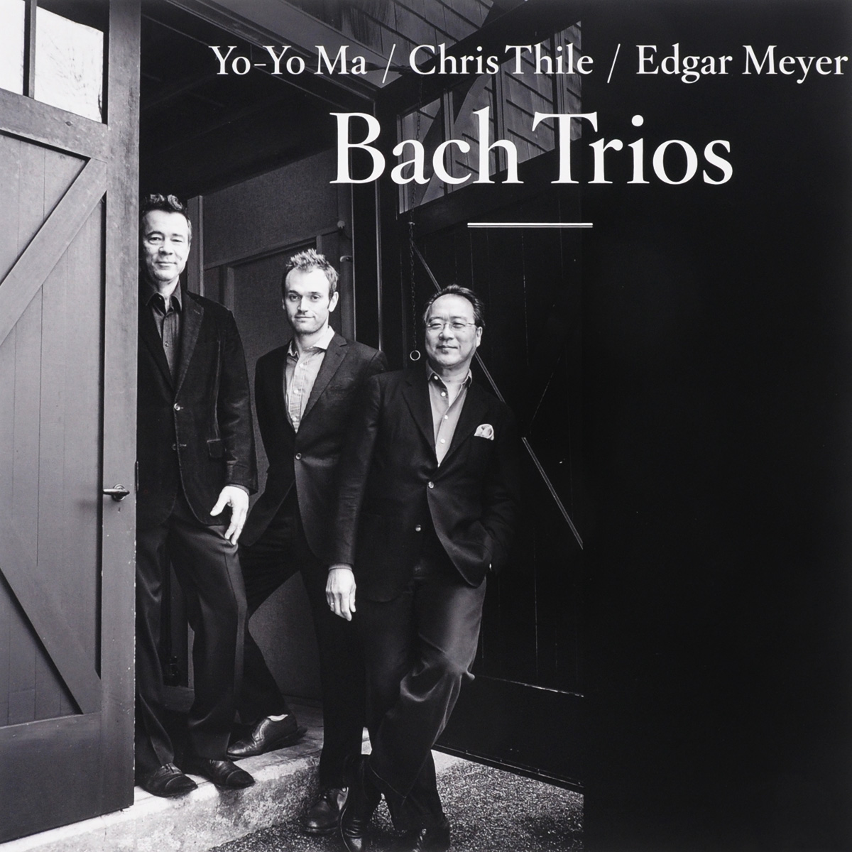 Йо-Йо Ма,Крис Тайл,Эдгар Мэйер Yo-Yo Ma, Chris Thile, Edgar Meyer. Bach Trios (2 LP) цена