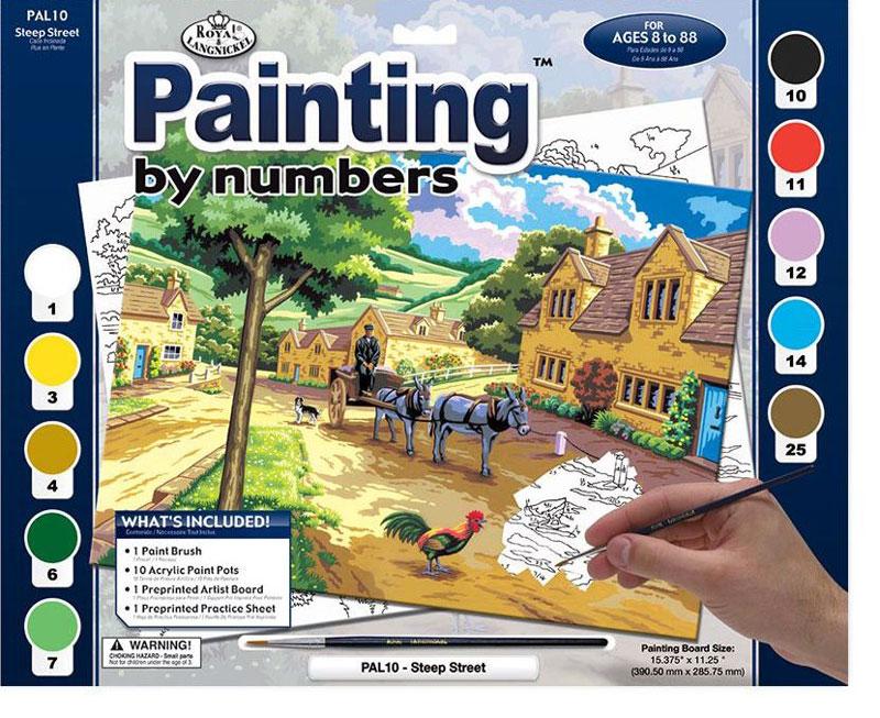Royal & Langnickel Картина по номерам Тихая улочкаPAL 10Раскраска Royal & Langnickel Тихая улочка представляет собой комплект для рисования. Такая раскраска понравится не только девочкам, но и мальчикам.Ребенку предстоит аккуратно разукрасить картину по номерам. Каждый номер соответствует определенному цвету. Для этого в комплекте имеются краски.Занятие развивает творческое мышление, учит сочетать цвета и подарит ребенку много положительных эмоций.