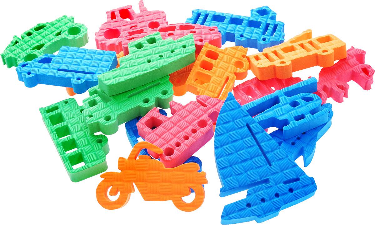 Pic'nMix Набор игрушек для ванной Транспорт цвет оранжевый cиний зеленый жирафики набор игрушек для ванной лошадка и свинка