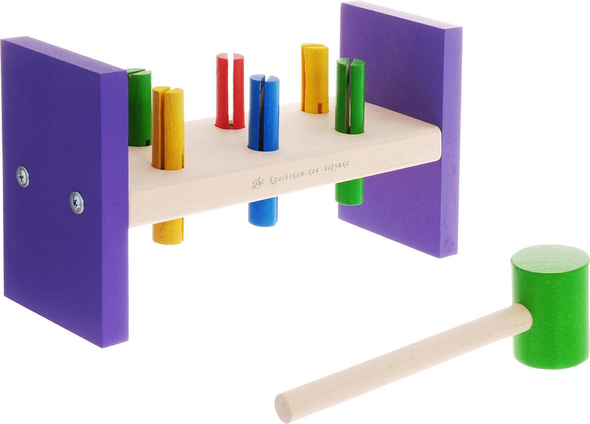 Краснокамская игрушка Игровой набор Стучалка краснокамская игрушка игровой набор кукольная мебель шкафчик
