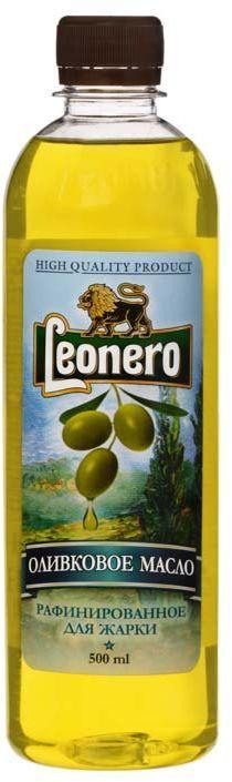 Leonero масло оливковое рафинированно для жарки Pomace, 500 мл leonero оливковое масло рафинированное для жарки 500 г