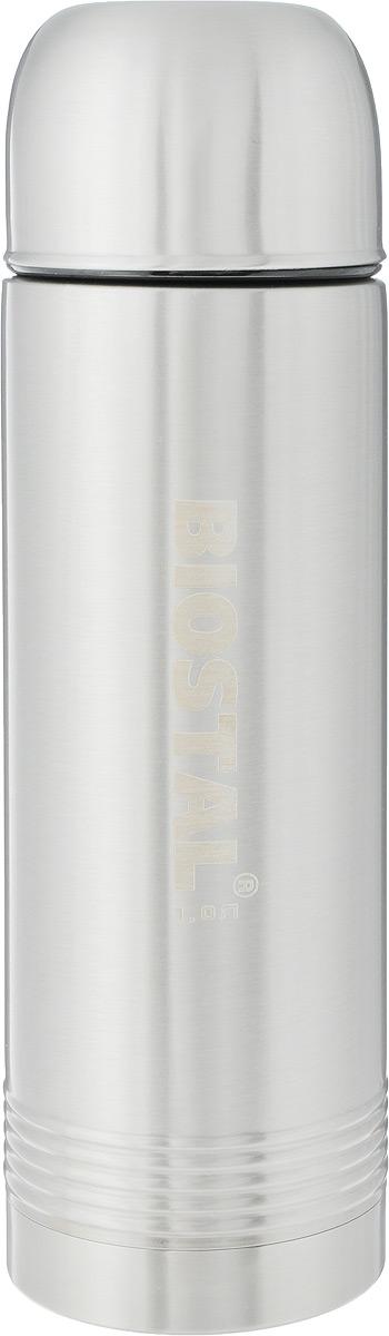 Термос Biostal Охота, цвет: стальной, 1 л. NYP-1000 термос biostal nyp 1000 1л