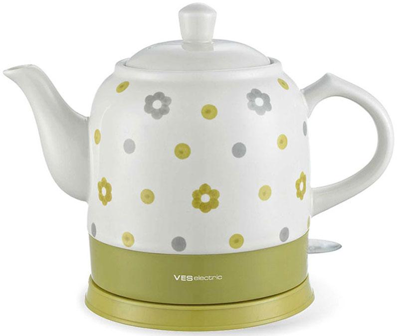 Электрический чайник Ves VES1022 электрический чайник ves ves1022 r красный