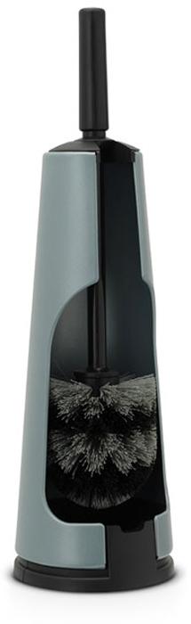 Ершик туалетный Brabantia Classic, с держателем, цвет: мятный металлик. 107900 brabantia туалетный ершик с держателем 483301 brabantia