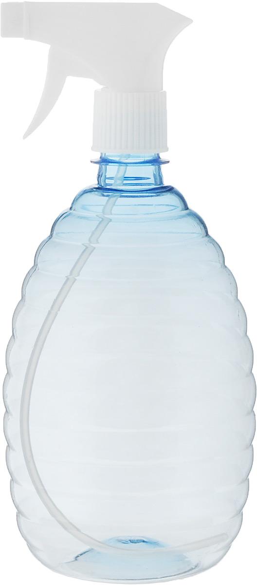Опрыскиватель InGreen, цвет: прозрачный голубой, белый, 1 л триммер бензиновый denzel gt 430