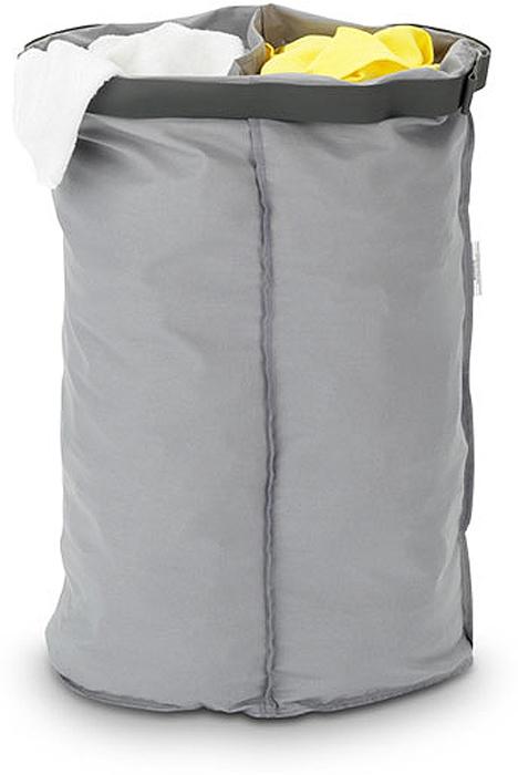 Мешок для бака для белья Brabantia, двойной, цвет: серый, 55 л. 102387 brabantia мешок для бака для белья двойной 40 л 382680 brabantia