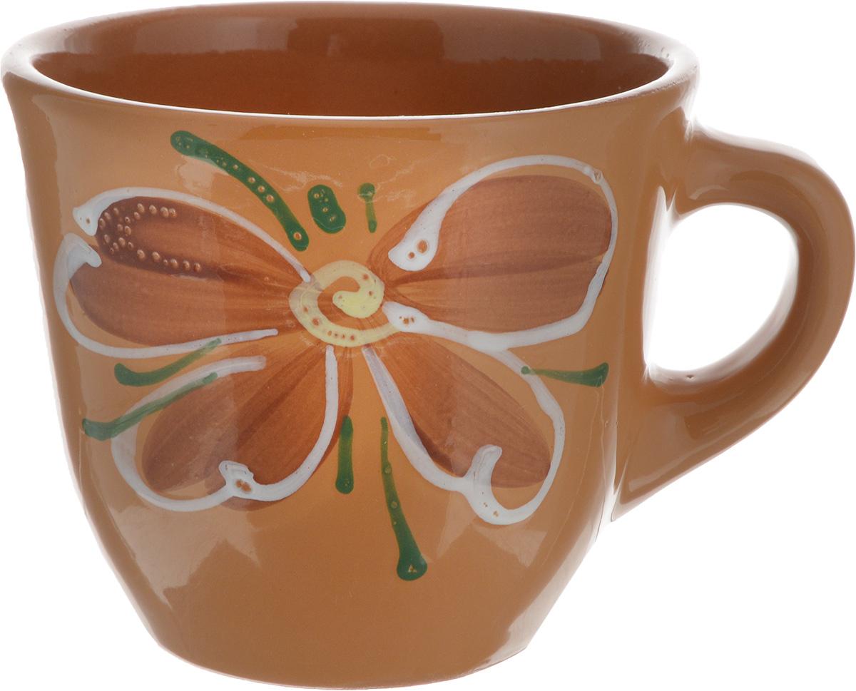 """Чашка Борисовская керамика """"Стандарт"""", цвет: светло-коричневый, 300 мл"""