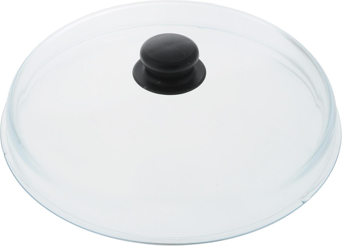 Крышка стеклянная VGP, высокая. Диаметр 28 см крышка vgp диаметр 24 см