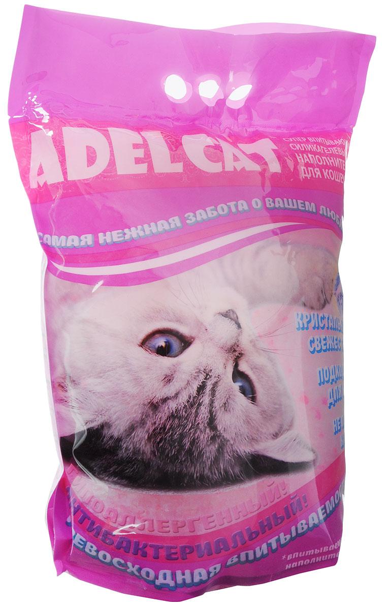 Наполнитель для кошачьих туалетов Adel-Cat, силикагель, с розовыми гранулами, 8 л993749Силикагелевый наполнитель Adel-Cat произведен из экологически чистого сырья высокого качества. Благодаря натуральному составу он обладает естественным для животных запахом и видом, а также природными антисептическими свойствами. За счет уникальной технологии производства, гранулы силикагеля сверхбыстро впитывают влагу, при этом остаются твердыми, не рассыпаются. Силикагелевый наполнитель безупречно удерживает неприятный запах, блокируя его внутри гранул, а аткже препятствует размножению бактерий. Товар сертифицирован.