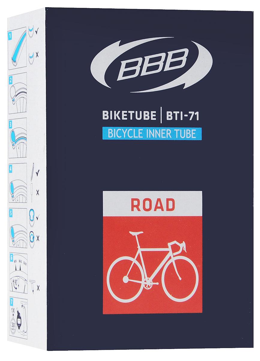 цена на Камера велосипедная BBB, 28, 18, 25C F, V, 60 мм