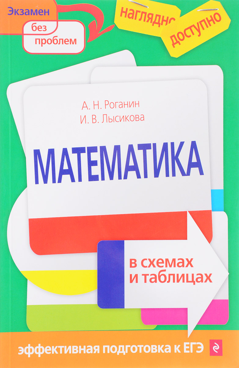 А. Н. Роганин, И. В. Лысикова Математика в схемах и таблицах