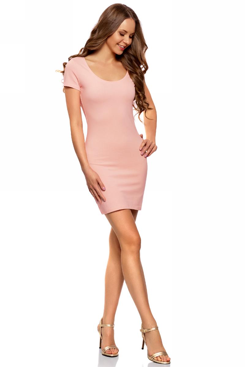 Платье oodji платье oodji ultra цвет красный 11913028 45559 4500n размер 40 46 164