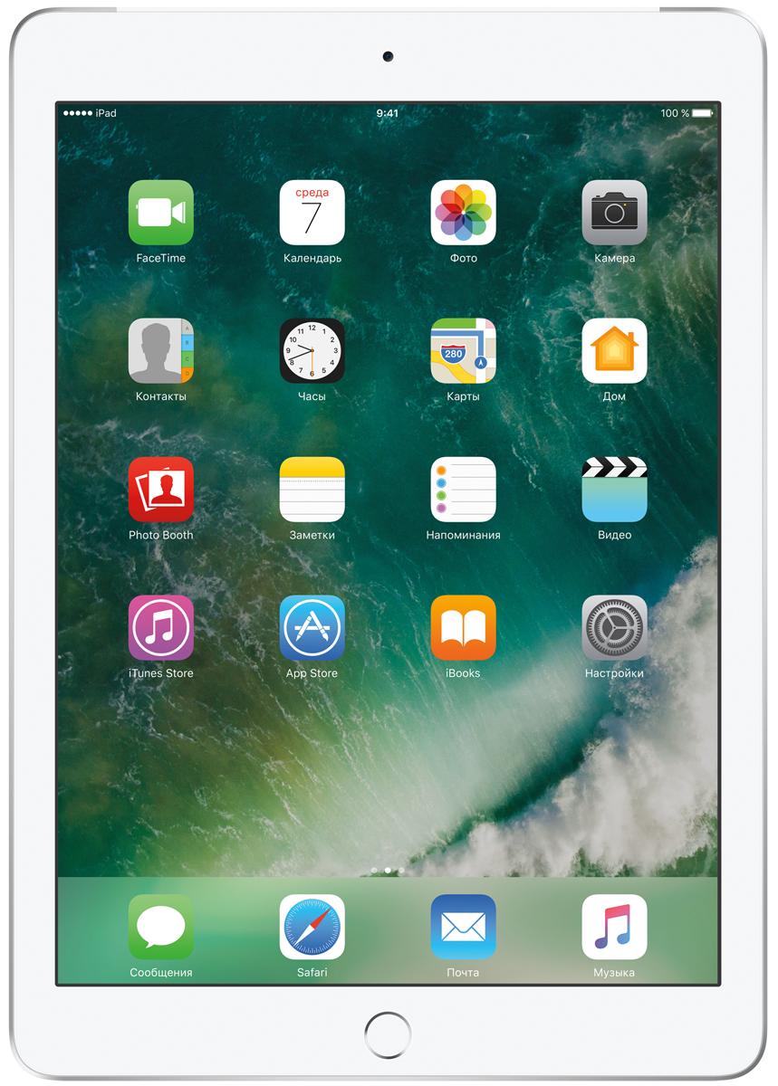 "Планшет Apple iPad 9.7"" Wi-Fi + Cellular (2017), 128 ГБ, серебристый"