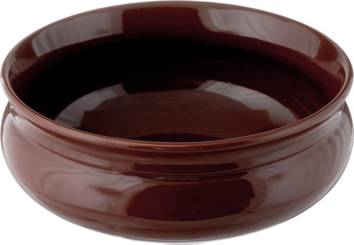 Тарелка глубокая Борисовская керамика Скифская, цвет: коричневый, 800 мл. ОБЧ14457934 видеорегистратор 2014